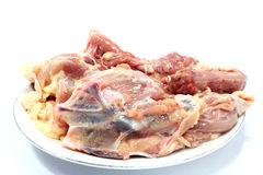 Chicken carcass Stock Photo
