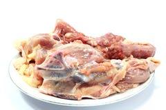Chicken carcass. For make chicken stock Stock Photo