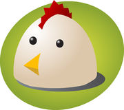 Chicken cartoon Royalty Free Stock Photography