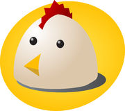 Chicken cartoon Royalty Free Stock Photo