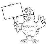 Chicken cartoon. Eps 10  illustration Design Stock Photography