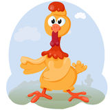 Chicken cartoon Royalty Free Stock Images