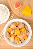 Chicken with cashew and mango Stock Photography