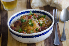 Chicken casserole Royalty Free Stock Photo