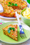 Chicken casserole with vegetables Royalty Free Stock Photography