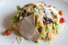 Chicken ceasar salad Royalty Free Stock Photos