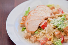 Chicken ceasar salad Royalty Free Stock Photo