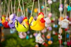 Chicken ceramic Stock Images