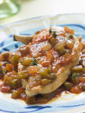 Chicken Cervaza- Pollo con Cervaza Stock Photos