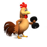 Chicken character Stock Images
