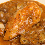 Chicken Chasseur Royalty Free Stock Photo