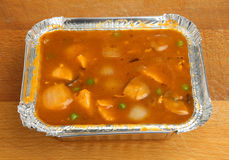 Chicken Chicken Curry Takeaway Stock Photography