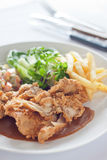Chicken Chop Royalty Free Stock Image