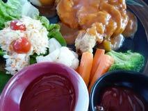 Chicken Chop Stock Photo