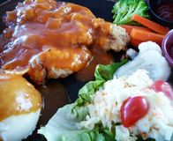 Chicken Chop Stock Photography