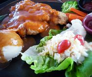 Chicken Chop Royalty Free Stock Photography