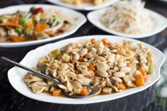 Chicken chop suey Royalty Free Stock Image