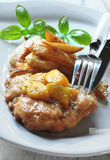 Chicken chops Stock Image