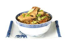 Chicken Chow Mein Stock Photography