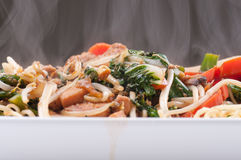 Chicken chow mein Royalty Free Stock Photo
