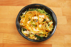 Chicken Chow Mein Stock Image