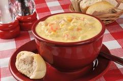 Chicken chowder Stock Photos