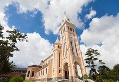 Chicken church in Da Lat City, Vietnam. Stock Image
