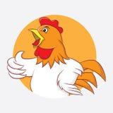 Chicken Circle Stock Photo