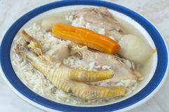 Chicken Claw Soup Stock Photos