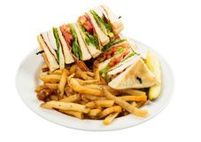 Chicken club royalty free stock image