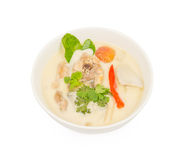 Chicken in coconut milk and galangal. Thai food ,  Chicken in coconut milk and galangal Stock Images