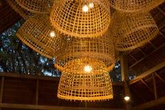 Chicken coop chandelier Stock Image