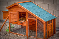 Chicken Coop Royalty Free Stock Photos