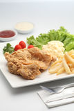 Chicken chop Stock Image