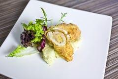 Chicken cordon bleu Royalty Free Stock Image
