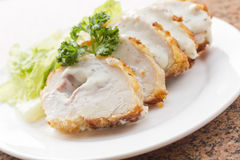 Chicken Cordon Bleu Royalty Free Stock Photography
