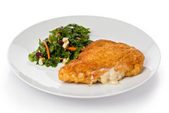 Chicken Cordon Bleu Royalty Free Stock Image