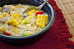 Chicken Corn Chowder Stock Image