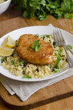 Chicken with couscous Royalty Free Stock Photography