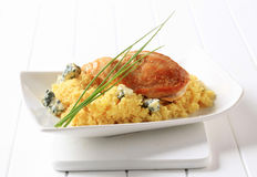 Chicken and couscous Royalty Free Stock Image