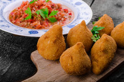 Chicken Coxinhas Royalty Free Stock Photos