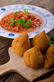 Chicken Coxinhas Royalty Free Stock Image