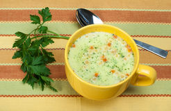 Chicken Cream Soup Royalty Free Stock Photos