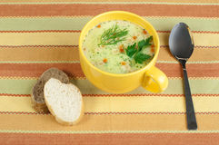 Chicken Cream Soup Royalty Free Stock Photography