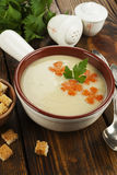 Chicken cream soup Stock Photography