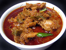 Chicken Curry. Hot and spicy Chicken Curry Royalty Free Stock Photography