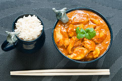 Chicken Curry Stock Image