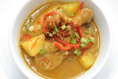 Chicken curry asia food Royalty Free Stock Photos