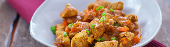 Chicken curry bhuna Royalty Free Stock Images