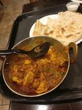 Chicken curry! royalty free stock image